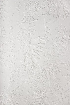 Textured ceiling by R&F Paint Corp..