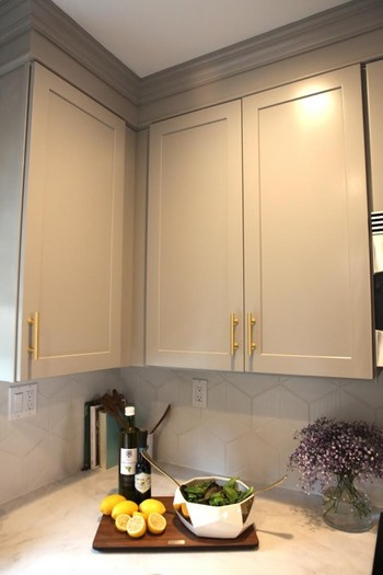 ?Kitchen Cabinets Completed by R&F Paint Corp.