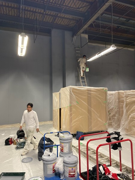 Commercial Interior Painting in Port Chester NY (1)